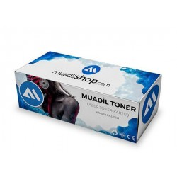 HP 124A - Q6001A Muadil Toner Mavi - 1600/2600/2600n/2605/2605dn