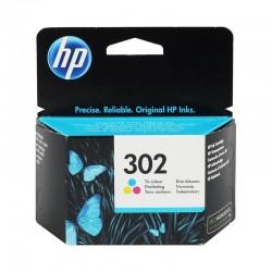 HP 302-F6U65AE Orijinal Mürekkep Kartuş Renkli