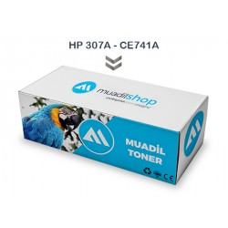 HP 307A - CE741A Muadil Toner MAVİ - CP5225/CP5225dn/CP5225n