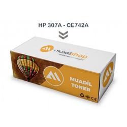 HP 307A - CE742A Muadil Toner SARI - CP5225xh/CE711A/CE712A