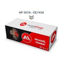 HP 307A - CE743A Muadil Toner KIRMIZI - CP5225xh/CE711A/CE712A