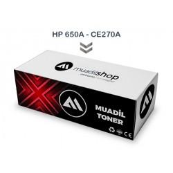 HP 650A - CE270A Muadil Toner SİYAH - M750/M750dn/M750n/M750xh