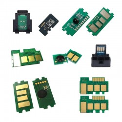 Kyocera TK-550 Chip - Toner Çipi - C MAVİ