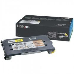 Lexmark C500-C500H2YG Sarı Orijinal Toner