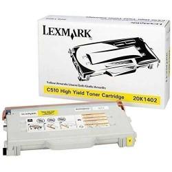 Lexmark C510-20K1402 Sarı Orijinal Toner