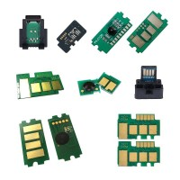 Oki C110 Chip - Toner Çipi - M KIRMIZI