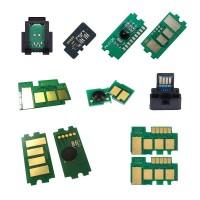 Oki C5850-EUR Chip - Toner Çipi - C MAVİ